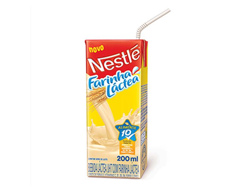 bebida farinha lactea