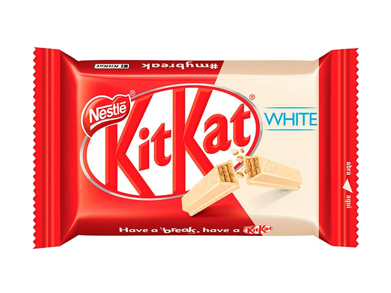 Chocolate Branco KitKat
