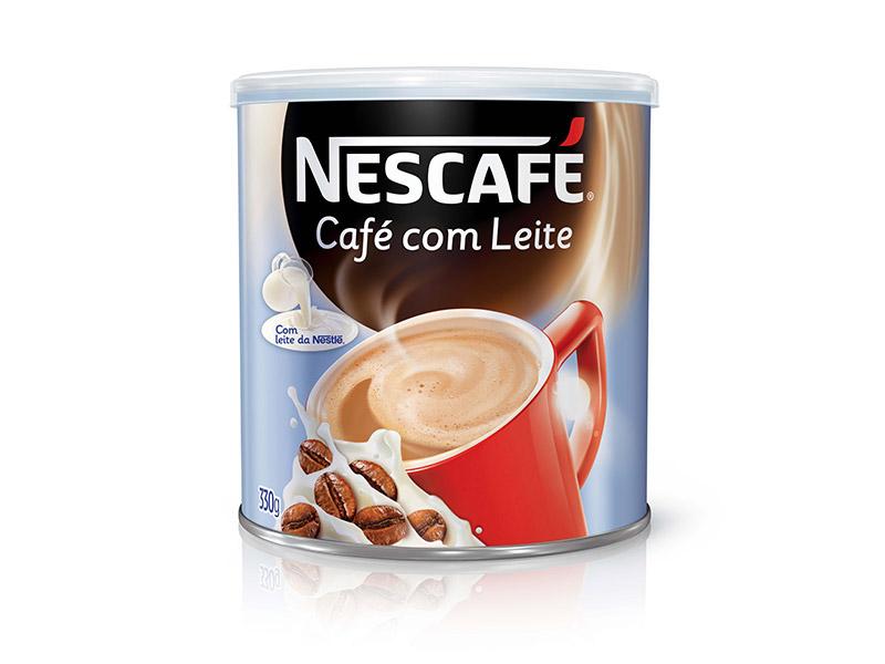 nescafé café com leite