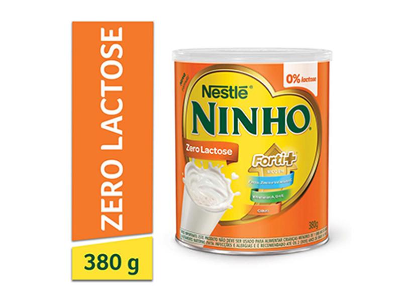 ninho zero lactose